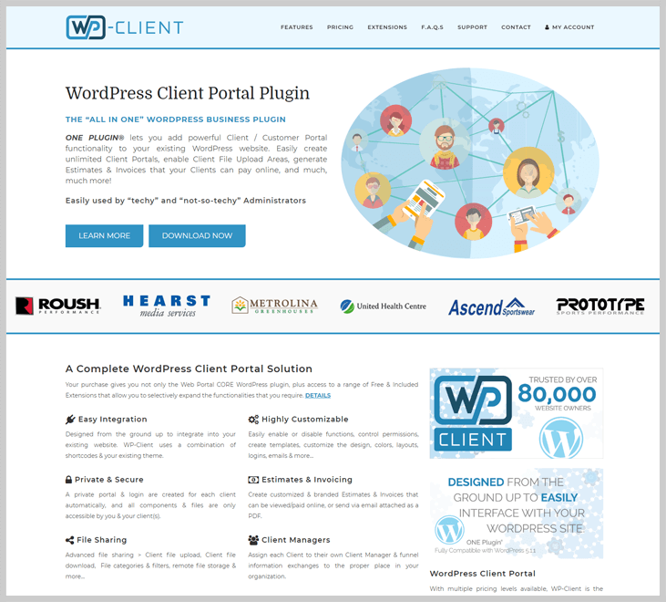 WP- Client - Client Portal WordPress Plugin