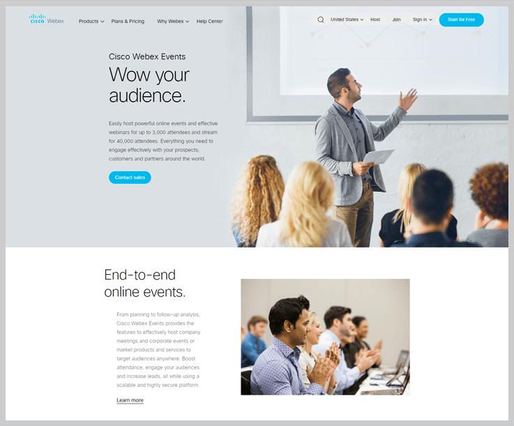 Webex - Webinar Software