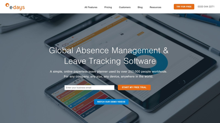 e-days Absence Management Software