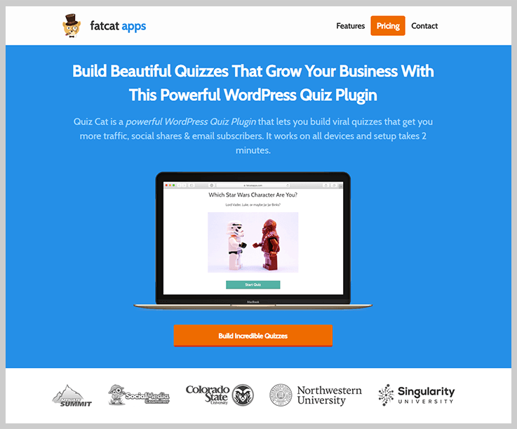 Quiz Cat - Online Exam WordPress Plugins