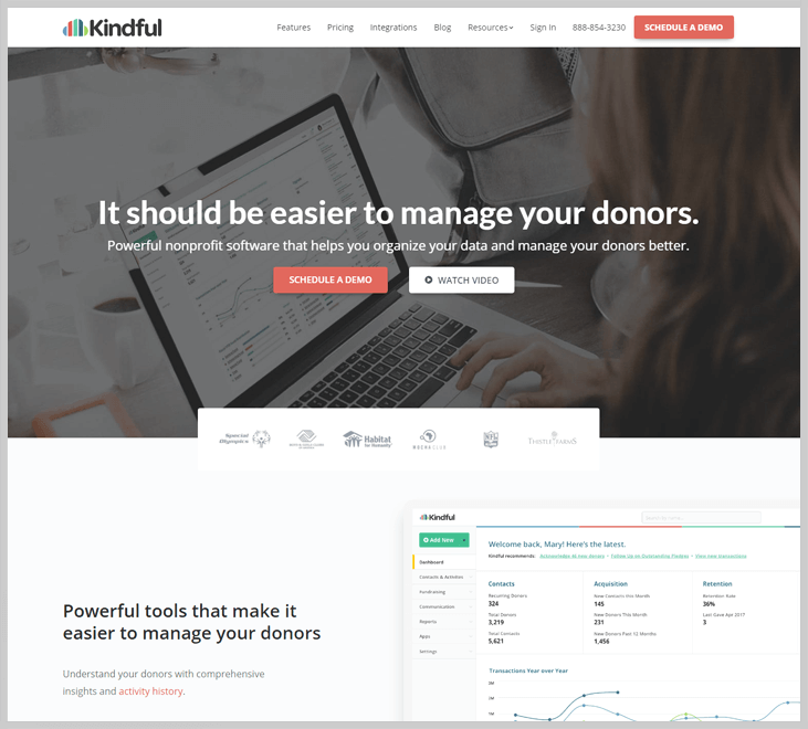 Kindful Fundraising Software