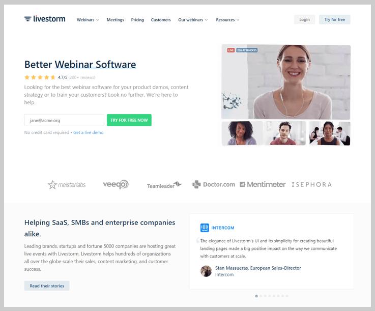Livestorm - Webinar Software