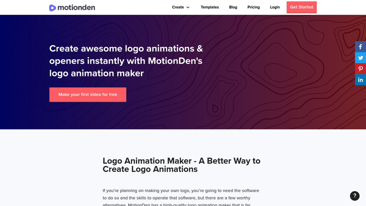 MotionDen - Logo Animation Software
