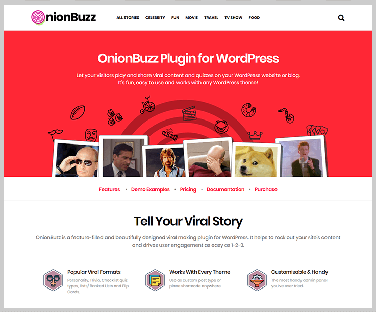 OnionBuzz - Online Exam WordPress Plugins