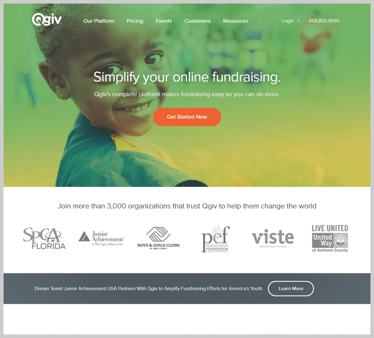 Qgiv Fundraising Software