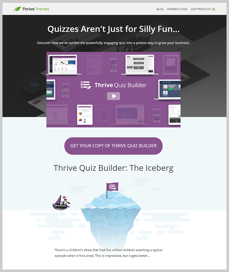 Thrive Quiz Builder - Online Exam WordPress Plugins