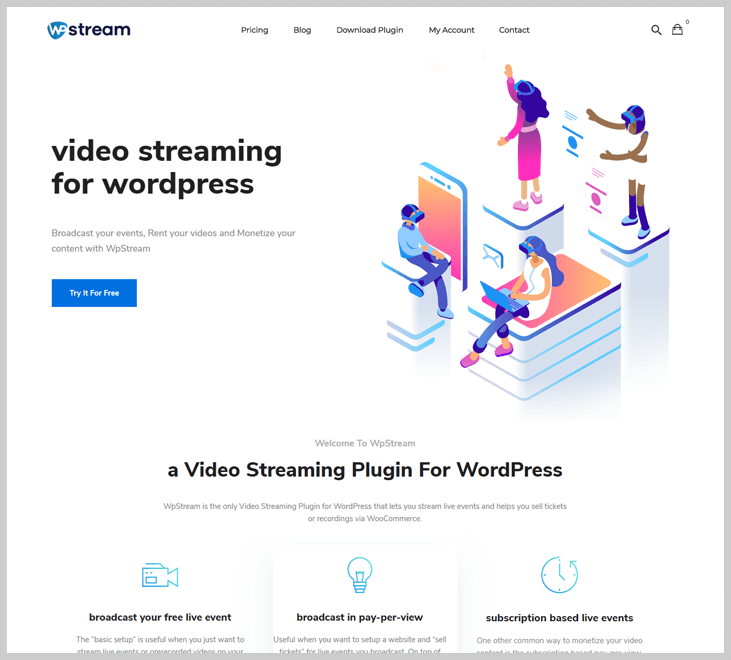 WpStream - Live Streaming WordPress Plugins
