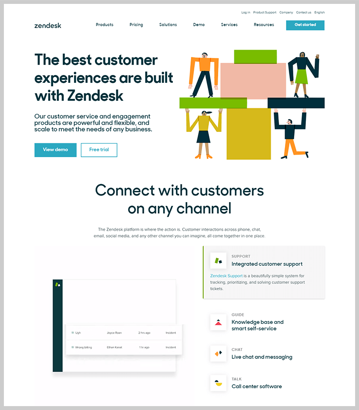 Zendesk - Knowledge Base Software