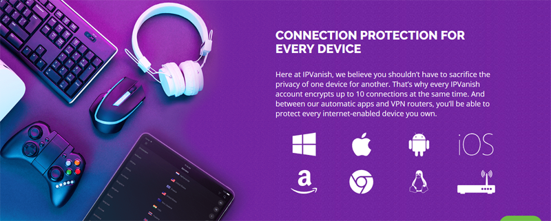 IPVanish Devices
