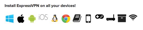 ExpressVPN - Devices