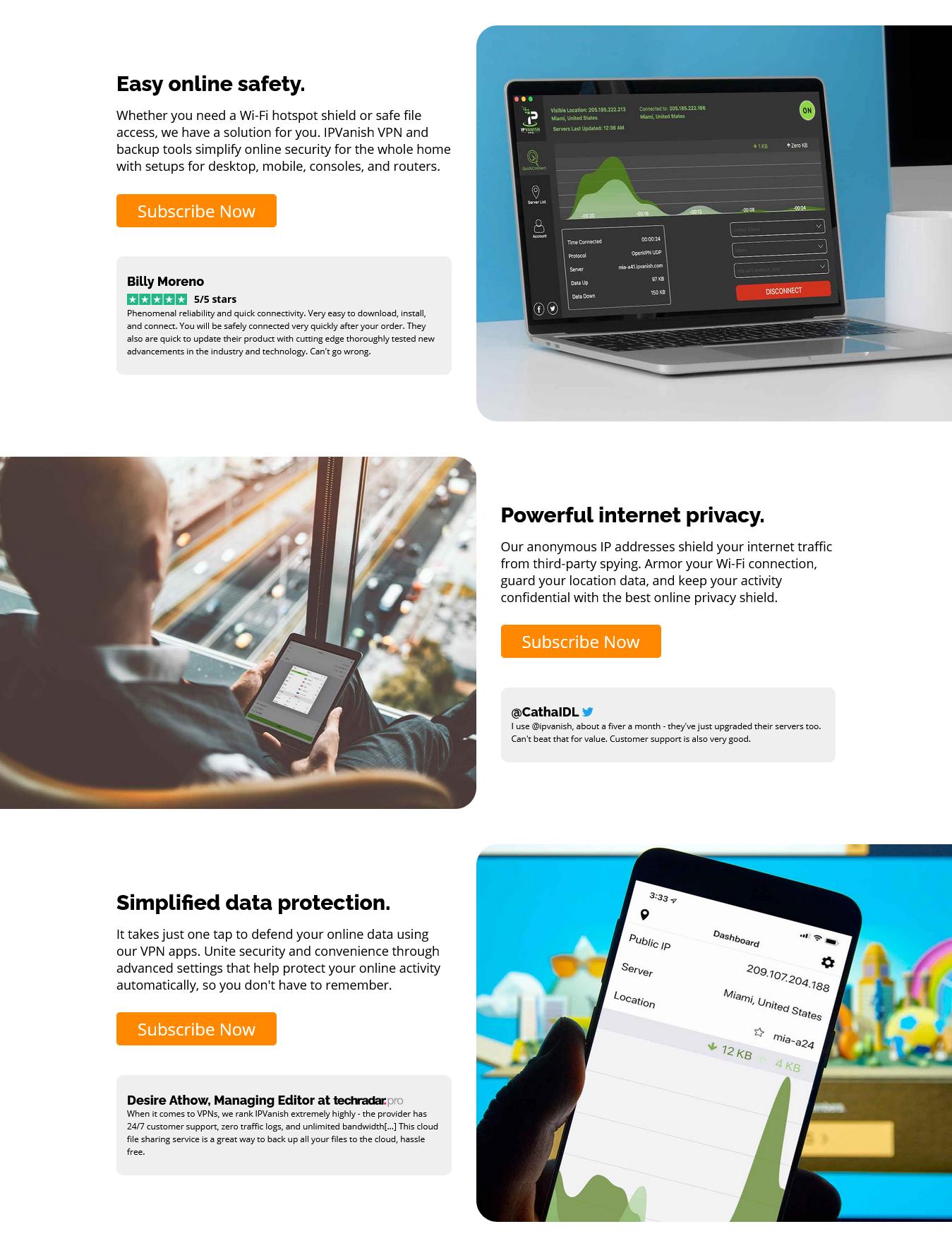 IPVanish Features