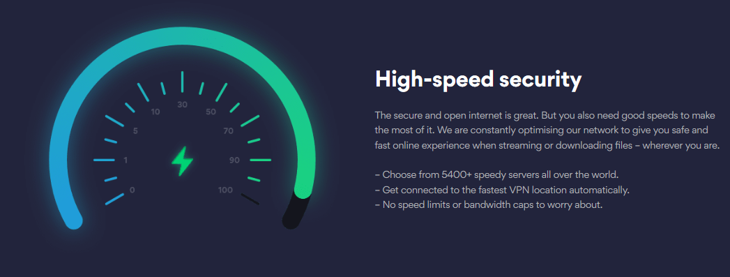 NordVPN Speed