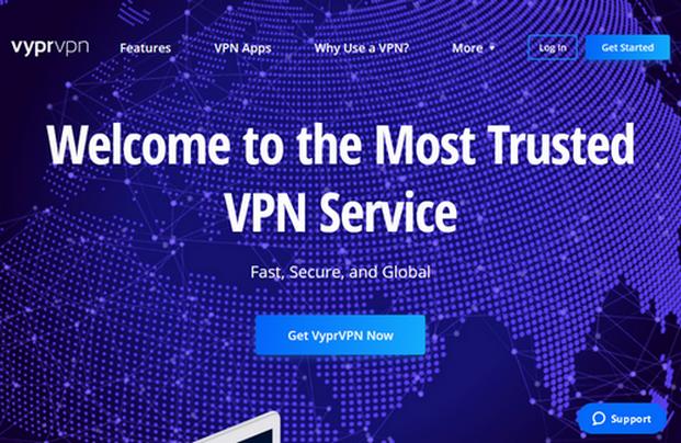 VyprVPN Home Page