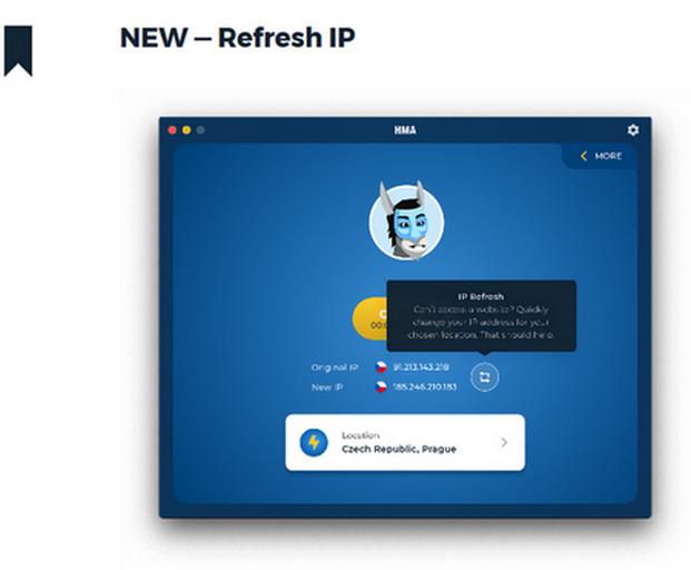 HideMyAss IP-Refresh