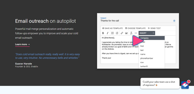 MailShake Autopilot