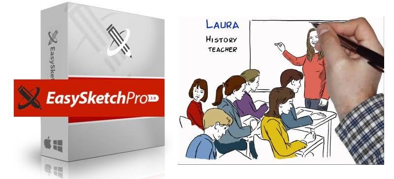 Easy Sketch Pro School Edition