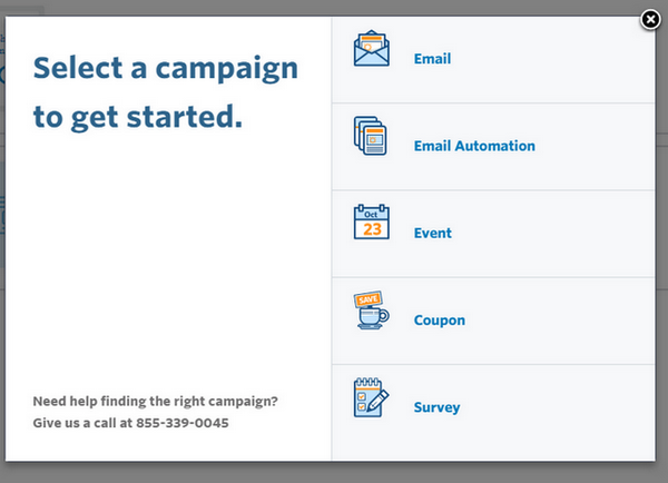 Constant Contact - Email Campaigns