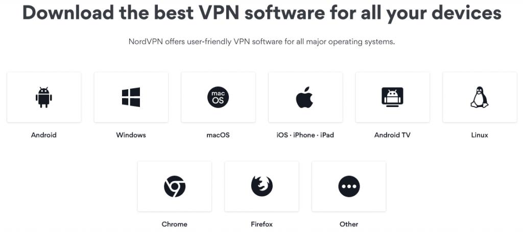 NordVPN - Apps