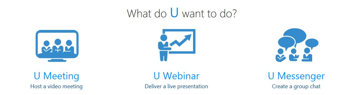 Cyberlink U Meetings Features
