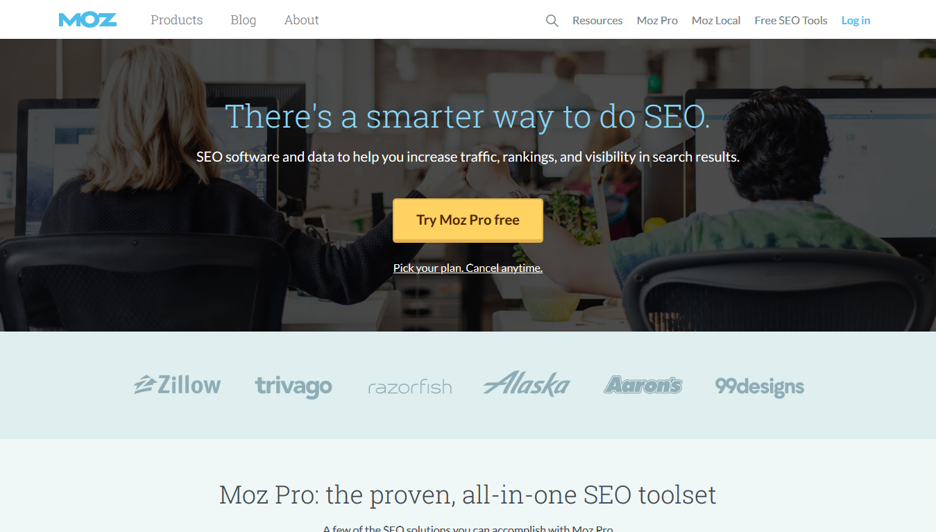 Moz Pro Home