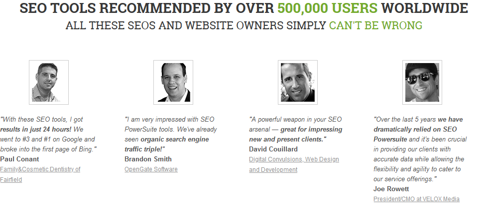 SEO PowerSuite Reviews