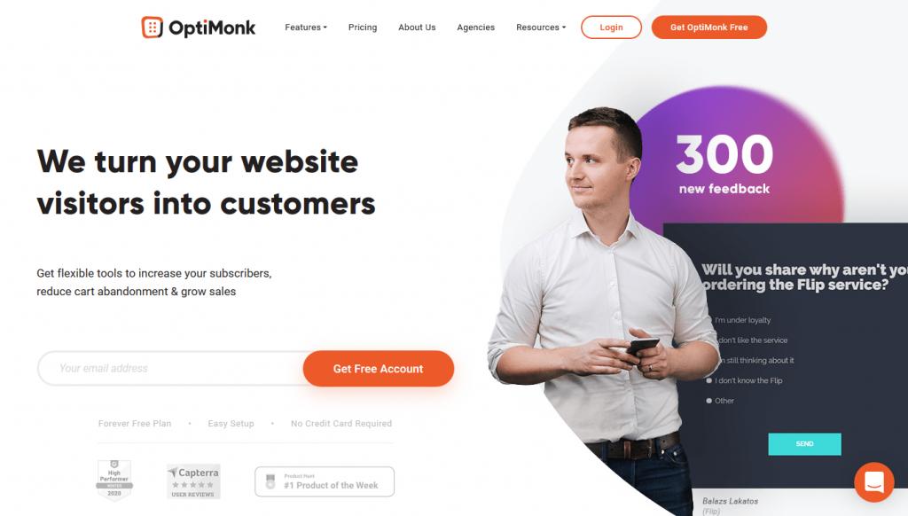 OptiMonk - Home