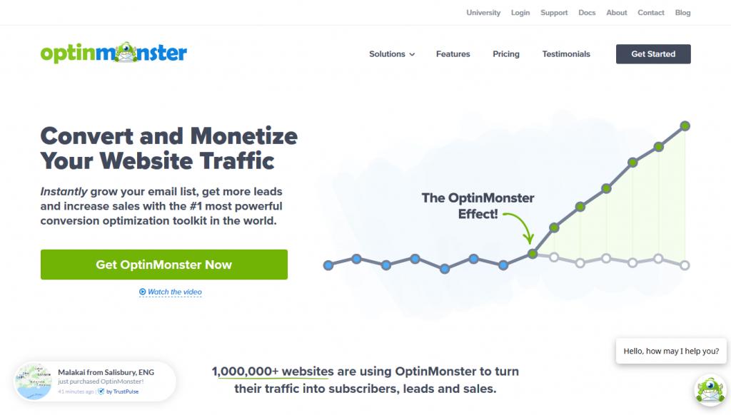 OptinMonster - Home