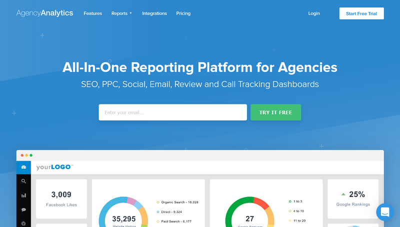 AgencyAnalytics - Home