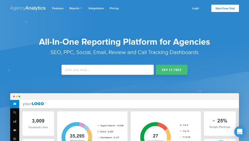 Agency Analytics - Home