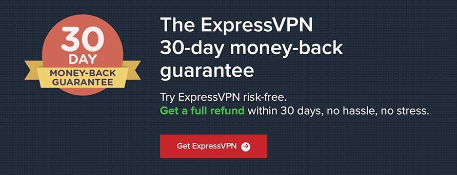 ExpressVPN - Money-Back Guarantee