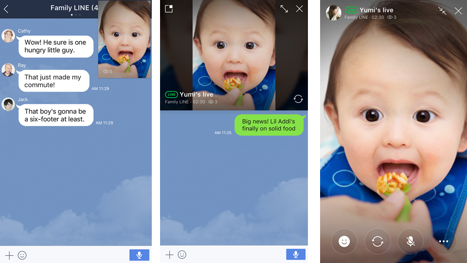LINE Video Chat