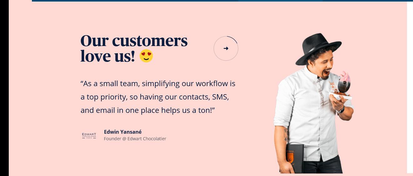 Sendinblue Customer Review