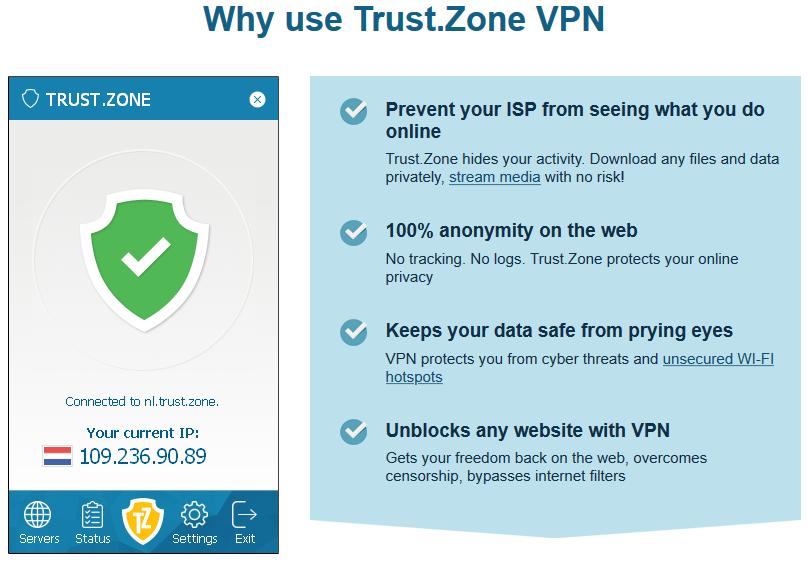 TRUST.ZONE Trusted VPN