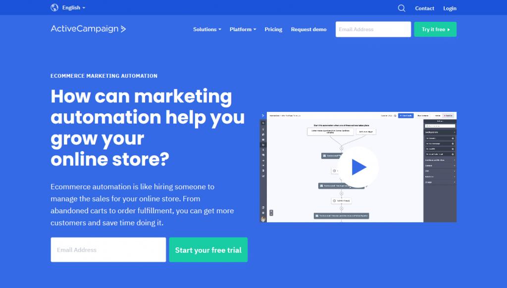 ActiveCampaign - eCommerce