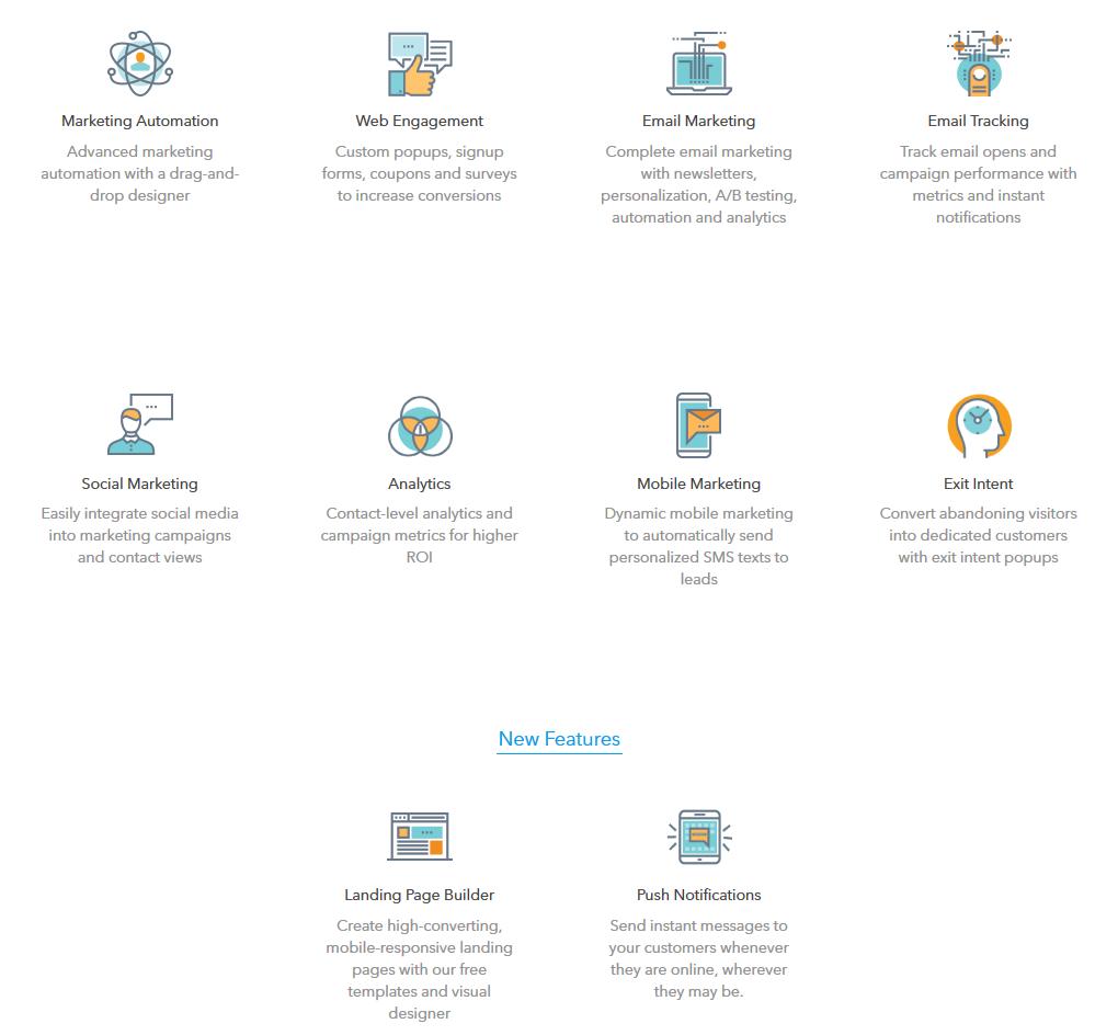Agile CRM Features
