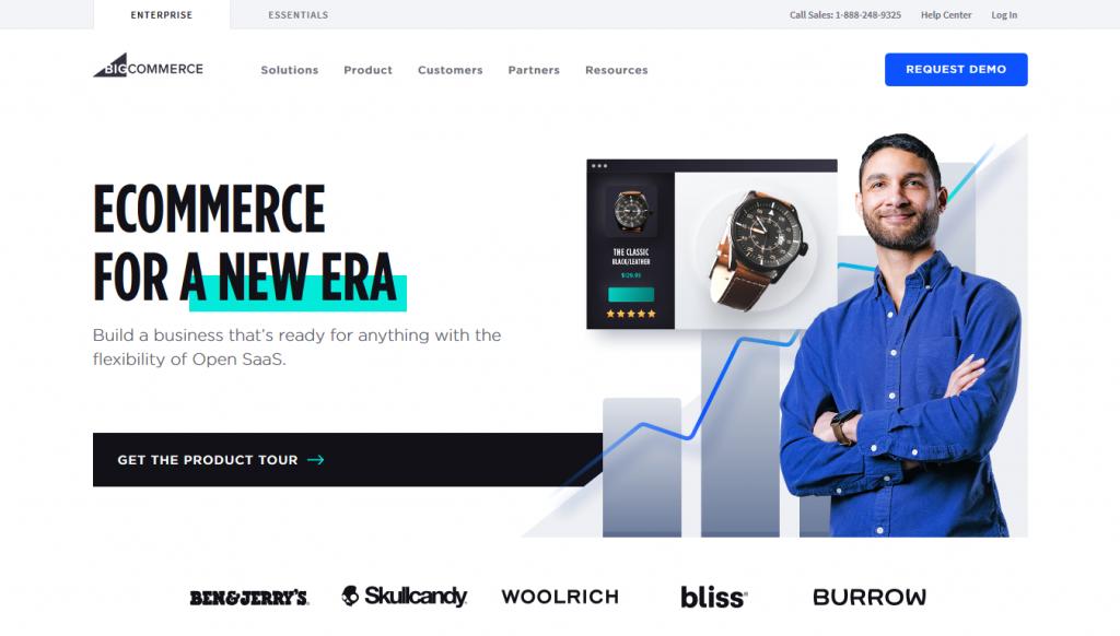 eCommerce - BigCommerce - Home