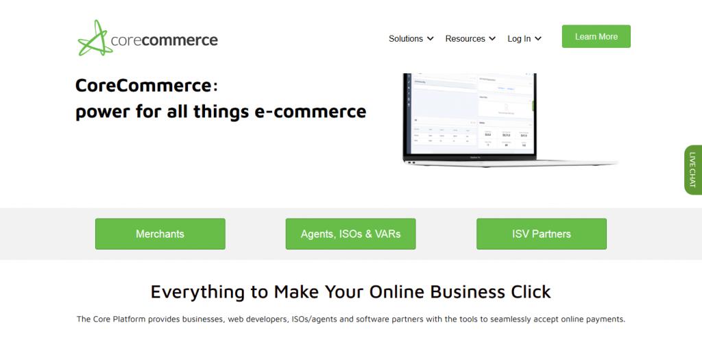 eCommerce - CoreCommerce - Home