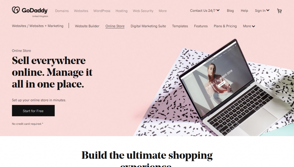 eCommerce - GoDaddy - Home