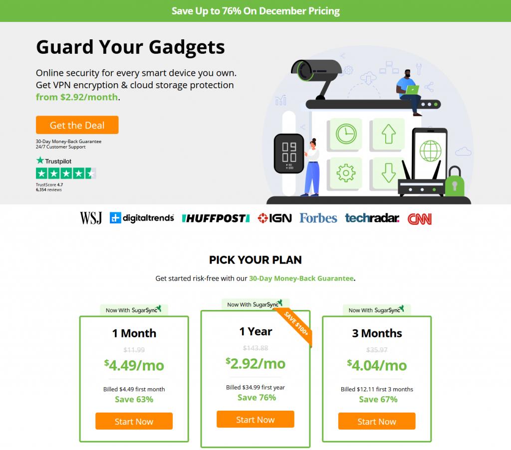VPN - Deals - IPVanish
