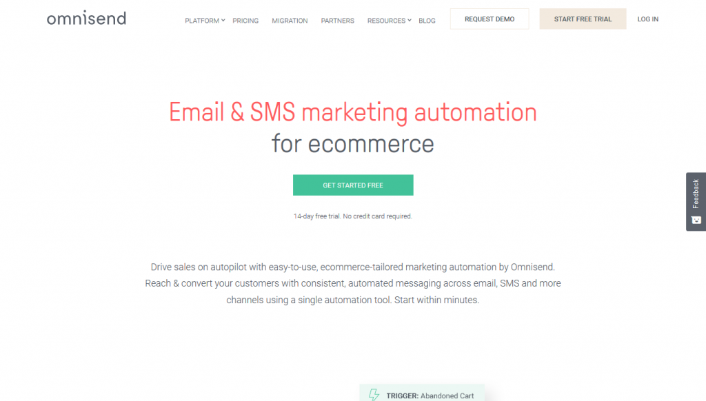Omnisend - eCommerce