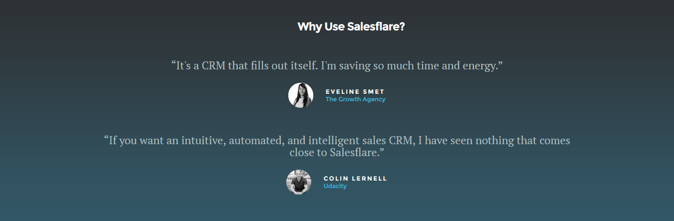 Salesflare Customer Stories