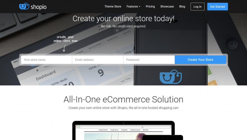 eCommerce - Shopio - Home