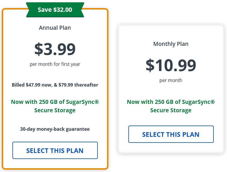 VPN-Deals - StrongVPN-Pricing