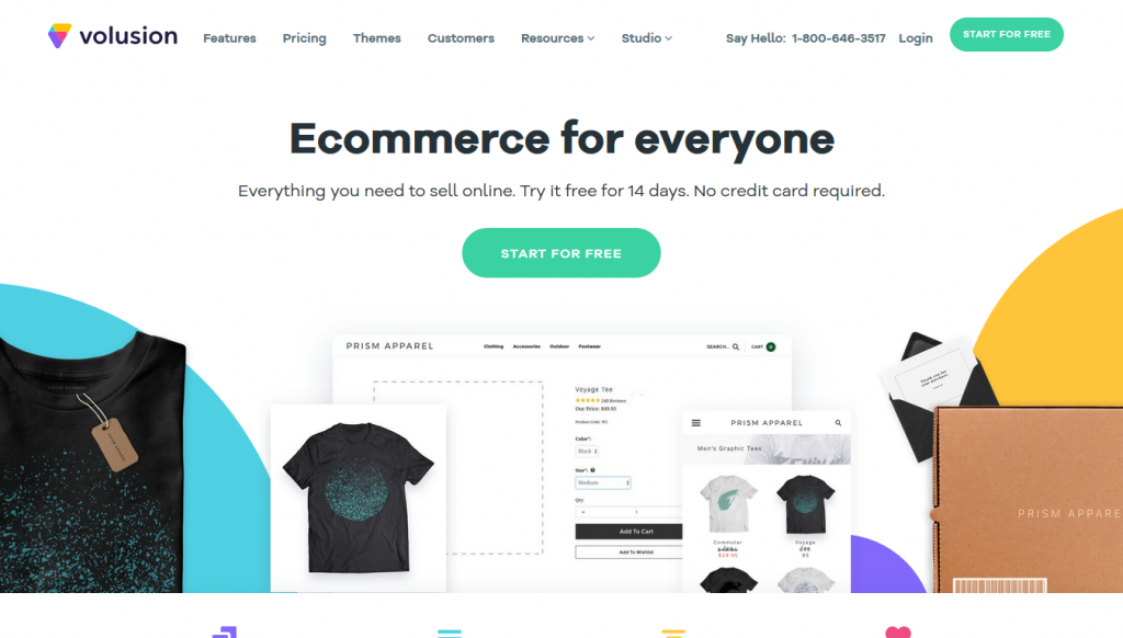 eCommerce - Volusion - Home
