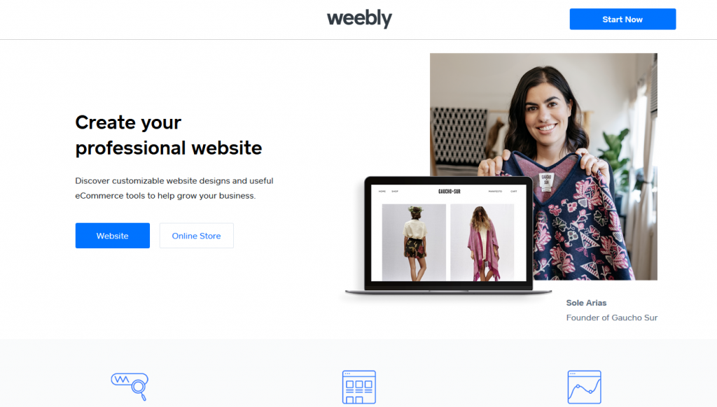 eCommerce - Weebly - Home