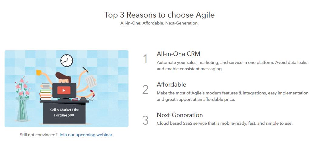 Why Agile CRM