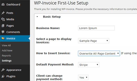 WooCommerce - Invoice