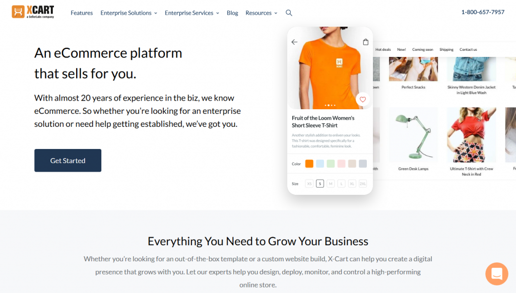 eCommerce - XCart - Home