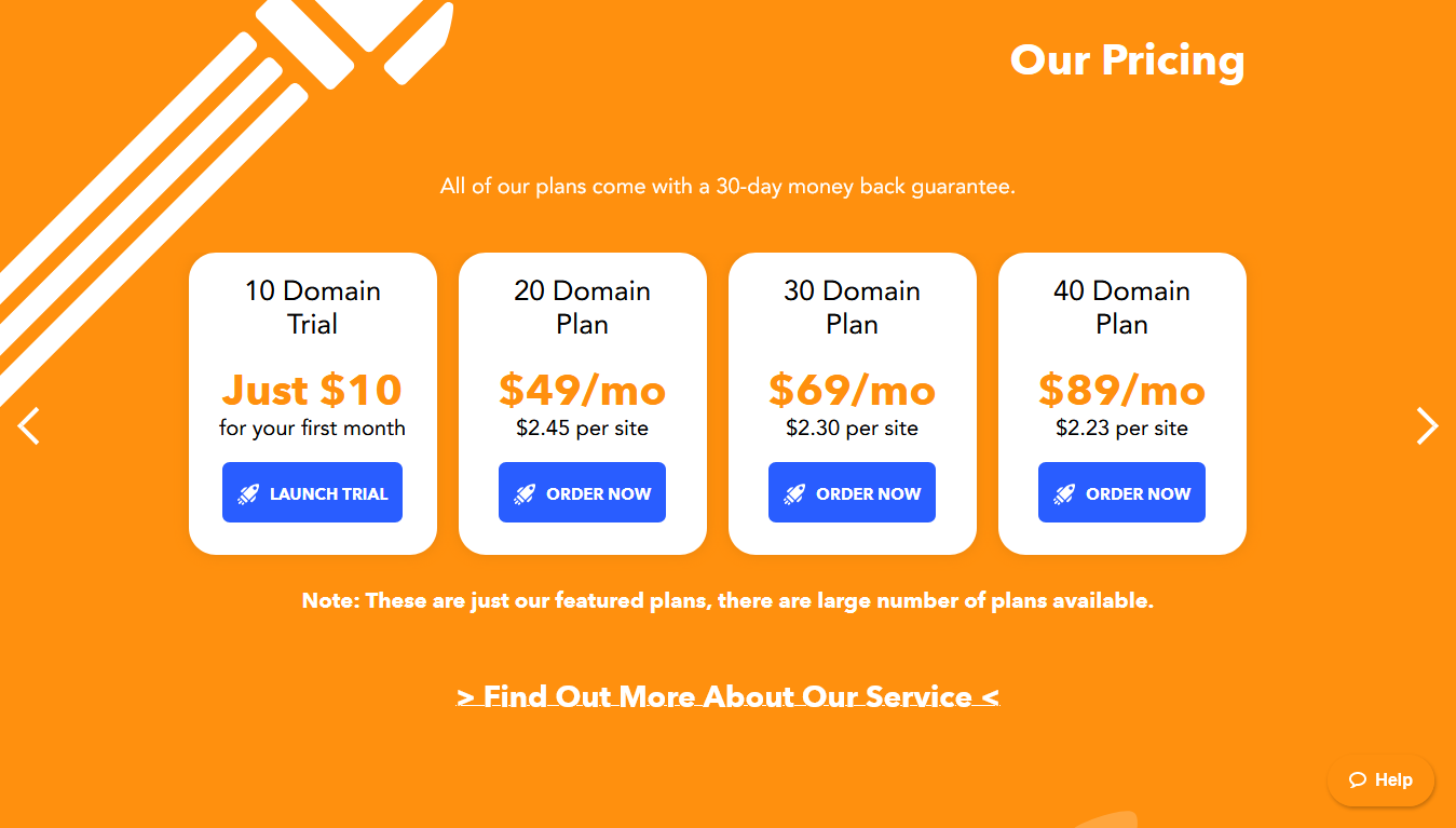 LaunchCDN Pricing
