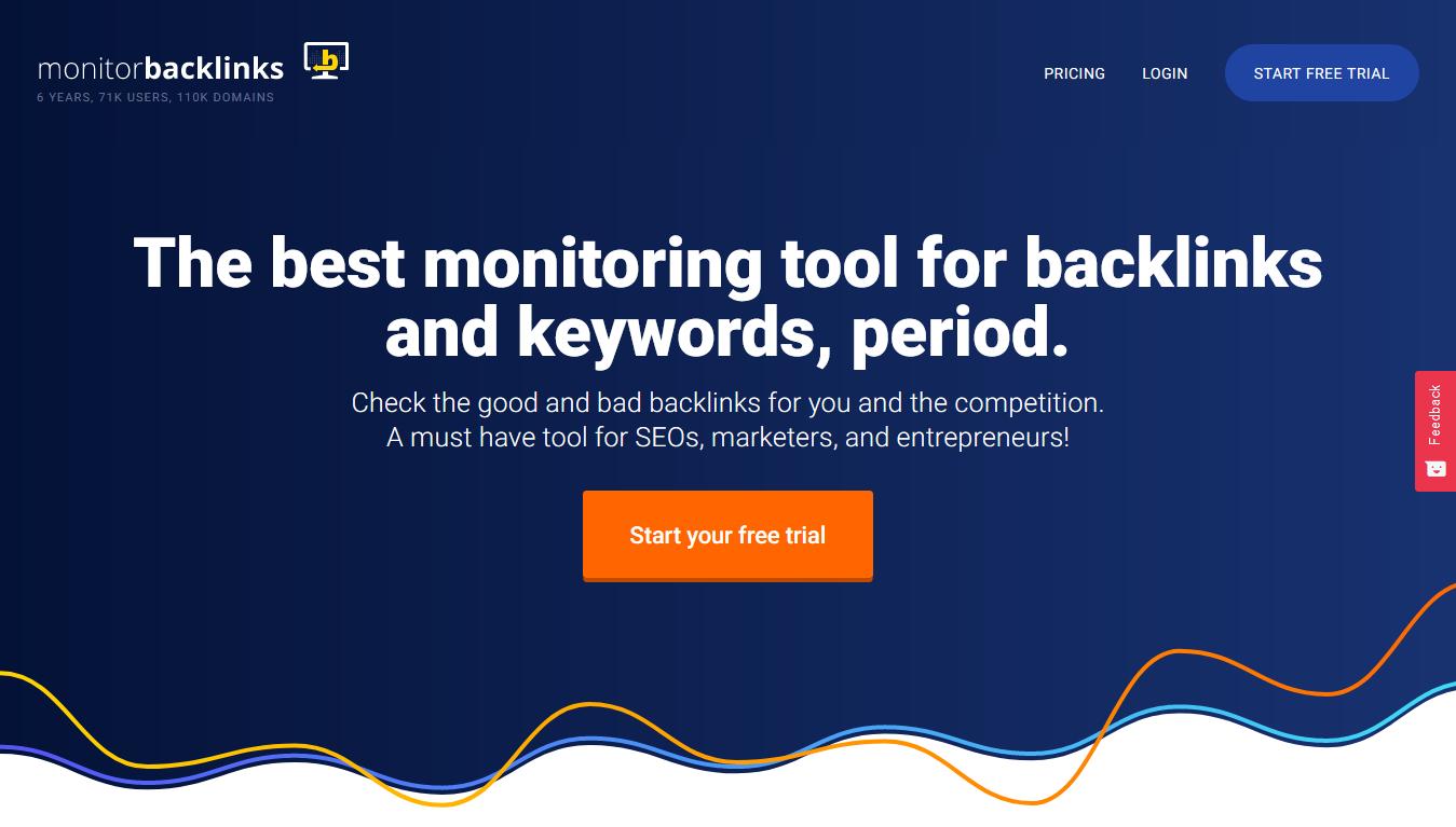 Monitor Backlinks Home
